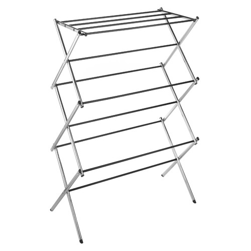 Whitmor Drying Rack Collapsible Chrome