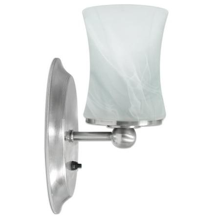sale retailer 253d2 3565e Dream Lighting 12V LED Glass Wall Sconce RV Camper Boat Dinette Room  Bedroom Indoor Décor Lighting Wall Lamp Warm White