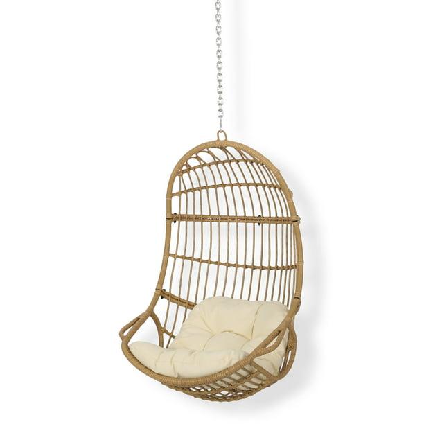 Ottawa Outdoor Indoor Wicker Hanging, Hanging Egg Chair Outdoor No Stand