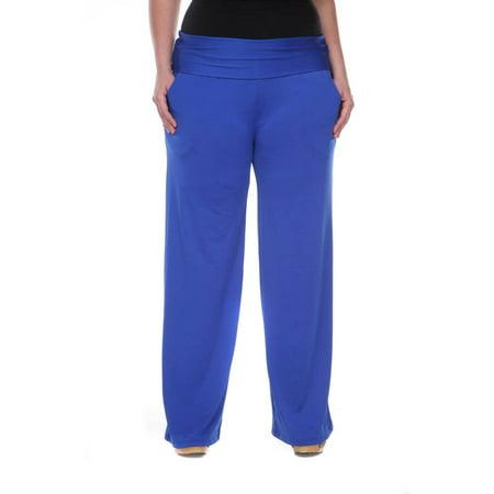 Plus Size Royal Blue Palazzo (Royal Blue Pants)