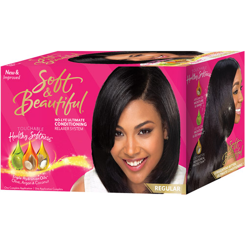 Soft & Beautiful Regular No Lye Ultimate Conditioning Relaxer System