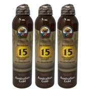 Australian Gold Continuous Spray Sunscreen w/ Instant Bronzer 3-Pack SPF 15