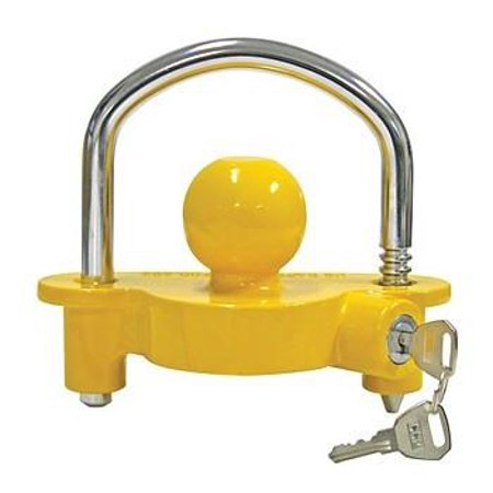 Universal Trailer Hitch Ball Coupler Lock Out Trailor Tongue Tounge