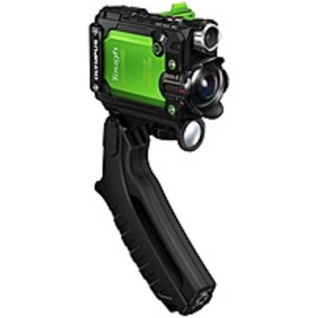 "Refurbished Olympus Digital Camcorder - 1.5"" LCD - BSI CMOS - 4K - Green - 16:9 - H.264, MOV - Electronic (IS) - HDMI - USB - microSDXC, microSDHC, microSD - GPS - Memory Card - Tripod Mount"