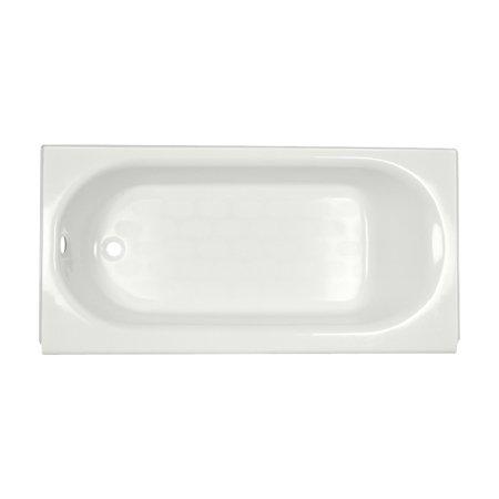 American Standard Princeton 5 ft. Americast Left-Hand Drain Drop-in Rectangular Bathtub in White