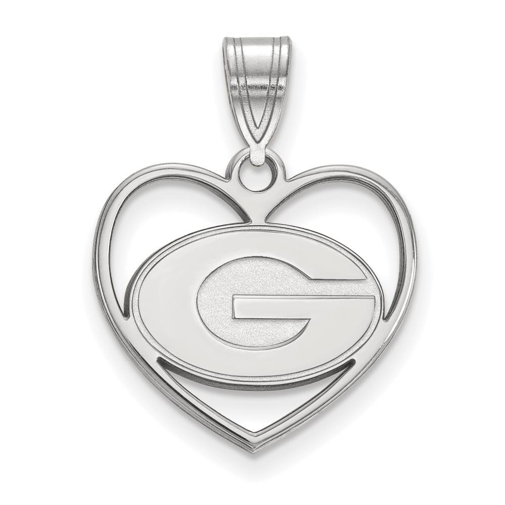 Georgia Pendant in Heart (Sterling Silver)