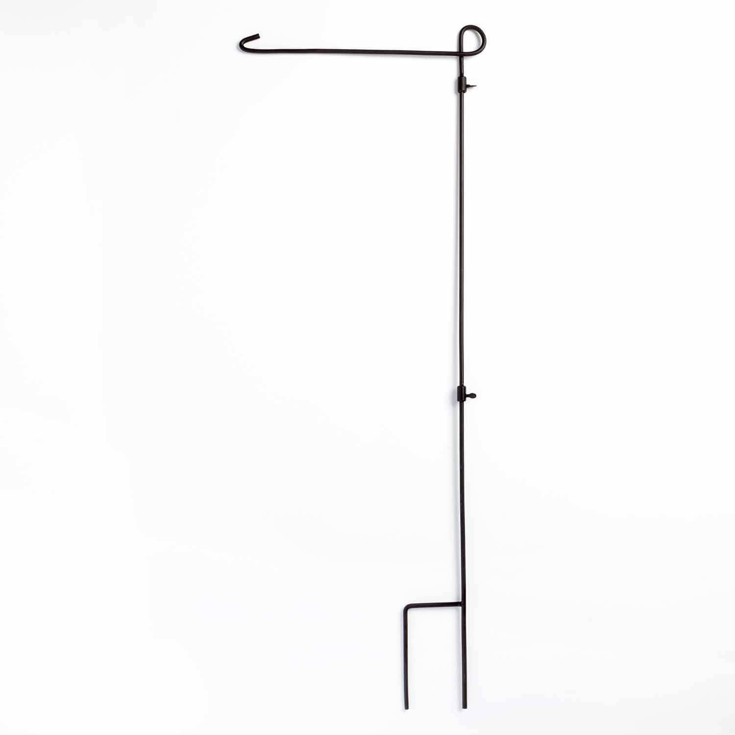 Wrought Iron Garden Flag Stand Walmartcom