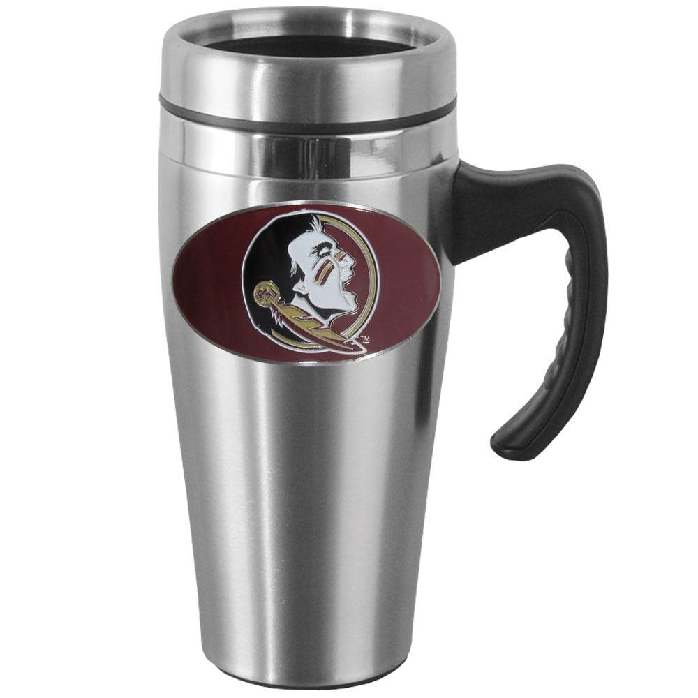 Florida State Steel Travel Mug w/Handle