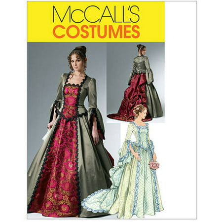 McCall's Misses' Victorian Costume, (6, 8, 10,