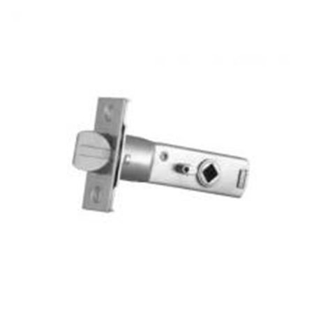 Baldwin 5520264P 2.75 in. Privacy Door Knob Estate Lever Latch for Backset - Satin Chrome Chrome Estate Replacement Latch