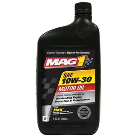Mag 1 QT 10W30 Engine Oil For Use Where 10W30 Engine Oil Is