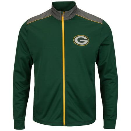 Football Jacket - Green Bay Packers NFL Team Tech Men's Full Zip Jacket Sweatshirt