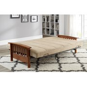 Better Homes And Gardens Mission Wood Arm Futon Multiple Colors Image 4 Of 11