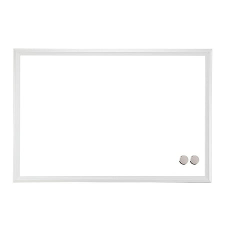 U Brands Magnetic Dry Erase Board, 20 x 30 Inches, White Décor Frame (Mini Dry Erase Board)