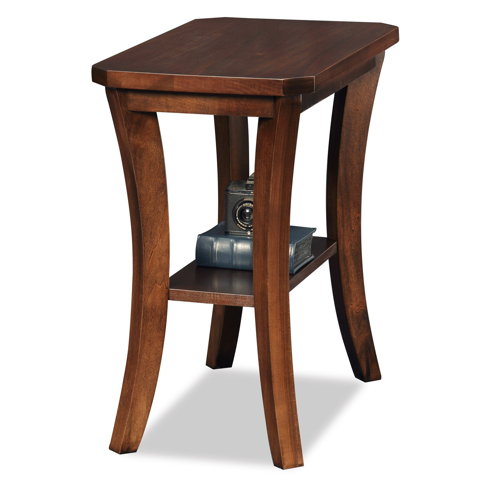 Leick Home Boa Narrow Chairside Table