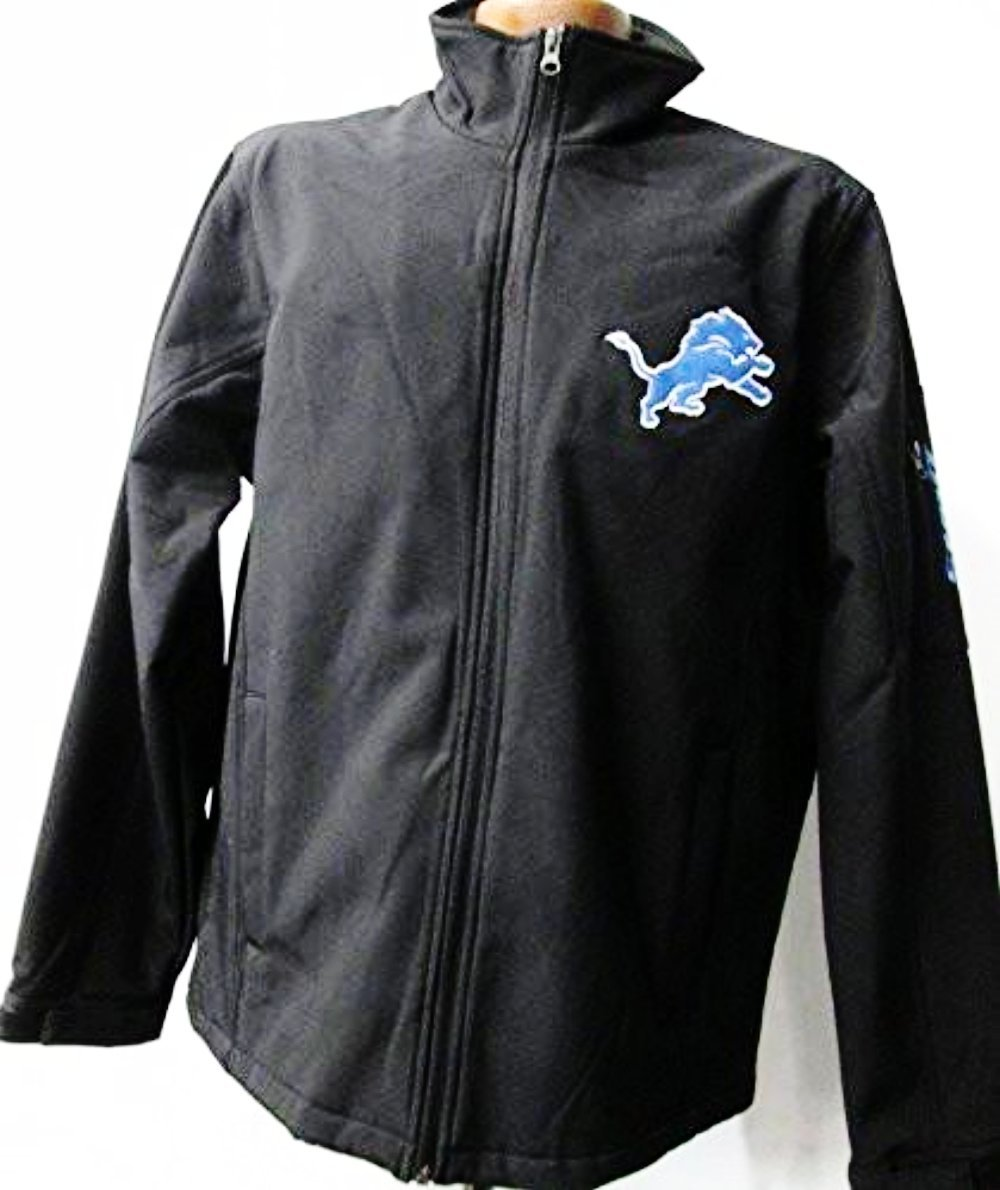 Detroit Lions Full Zip Soft Shell Jacket by G-III Sports