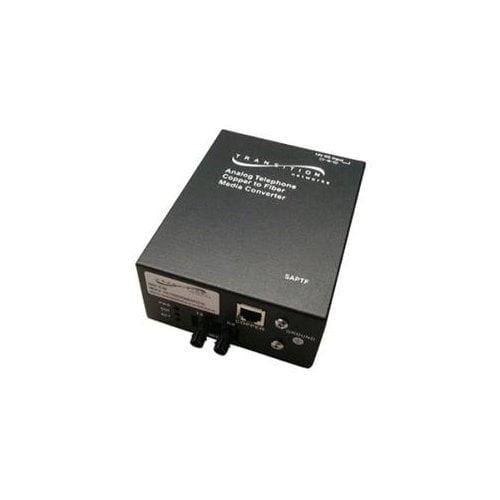 Transition Networks Saptf3314-115 Media Converter 1 X Rj-...