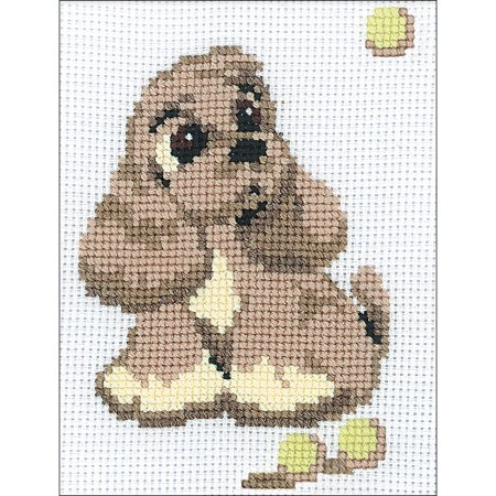 Cocker Spaniel Counted Cross Stitch Kit-6