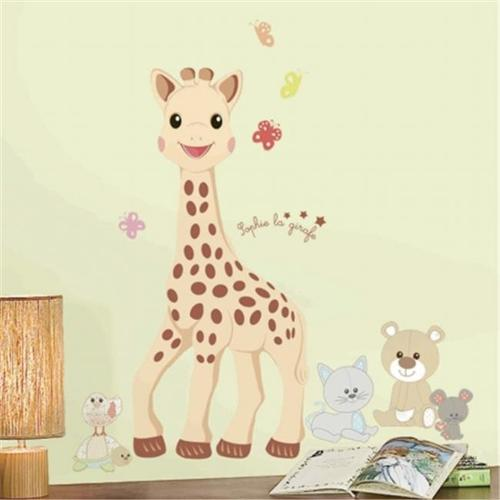 Room Mates RMK2864GM Sophie La Giraffe Peel & Stick Giant Wall Decals