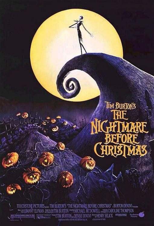 Tim Burton's The Nightmare Before Christmas - Framed Movie Poster ...