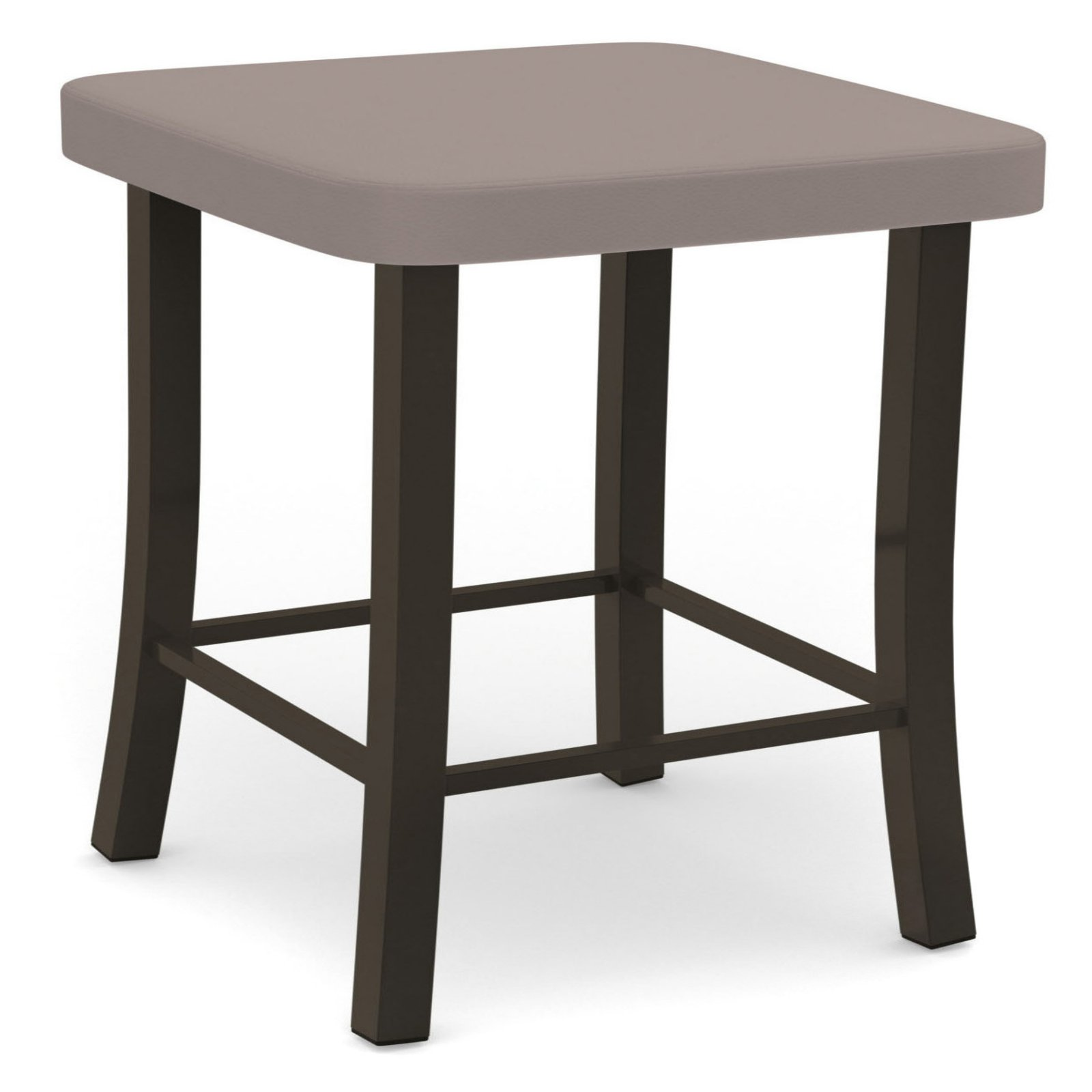Amisco Ryan 30 in. Backless Bar Stool