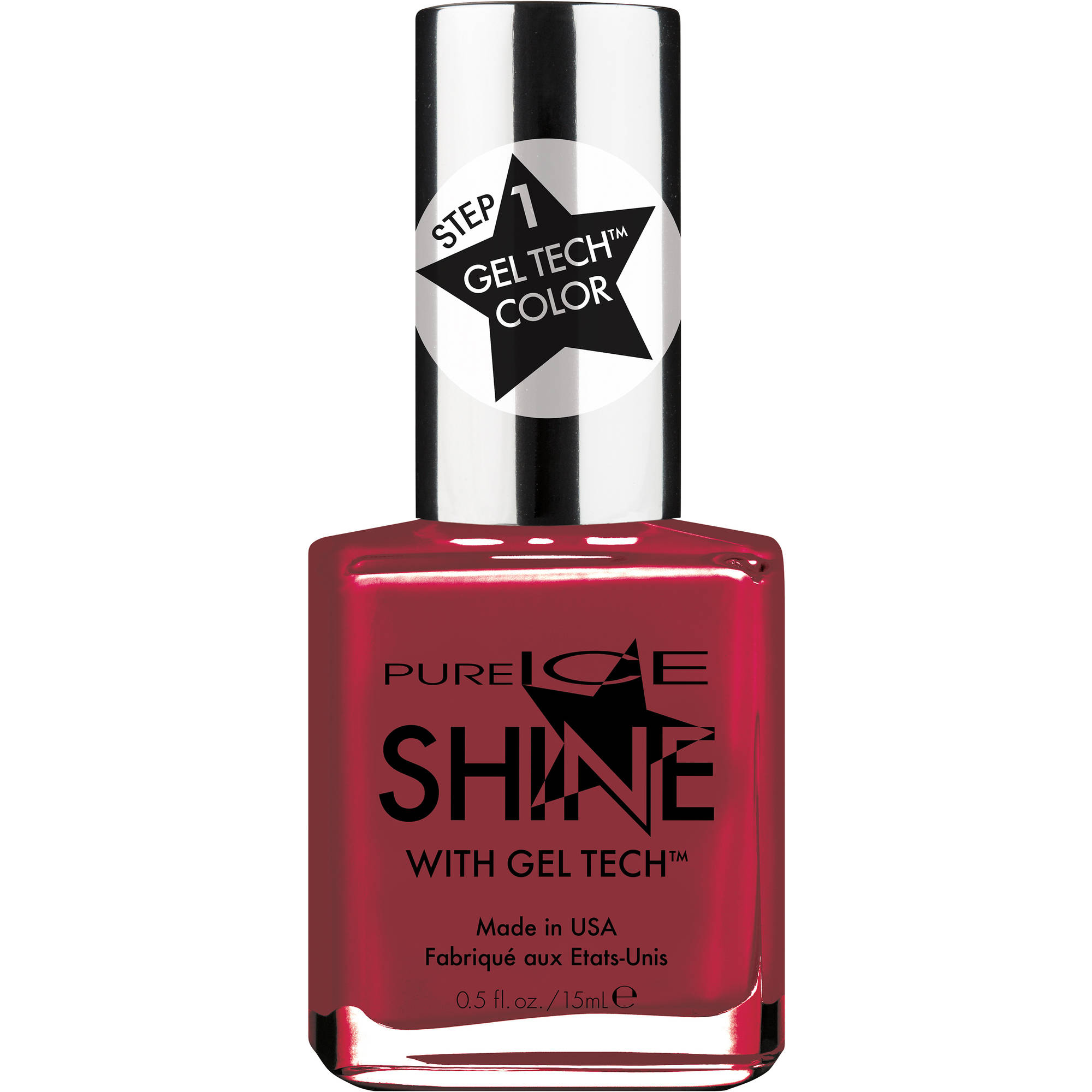 Pure Ice Shine with Gel Tech Nail Polish, Not the Gloss of Me, 0.5 fl oz