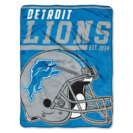 "NFL Detroit Lions ""40-Yard Dash"" 46""x 60"" Micro Raschel Throw"