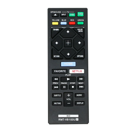 Replacement BDP-BX650 Remote Control for Sony Blu-ray Disc Player - Compatible with VB100U Sony Blu-ray Disc Player Remote Control - image 3 of 3