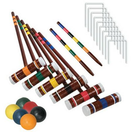 Franklin Sports Industry 50201 Croquet Set, Intermediate,