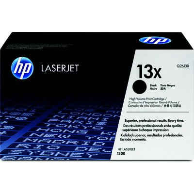 HP 13X High Yield Black Original LaserJet Toner Cartridge (Hp Q2613x)
