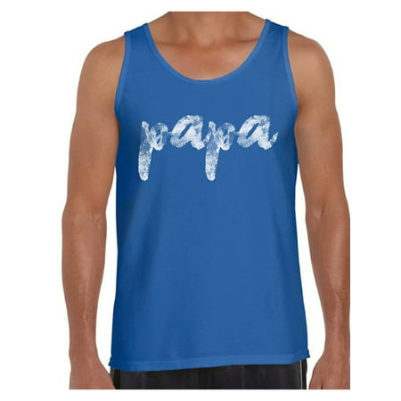 Awkward Styles Best Papa Ever Tank Top Papa Gifts Best Father Ever Papa Tank Top Best Father`s Day Gift Gifts for Father Men Tank Top Dad Gifts Dad Tank Top Made in USA Blessed Papa Tank (Best Corvette Ever Made)
