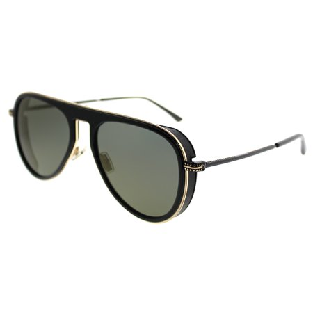 Jimmy Choo Carl 807/K1 Unisex Aviator (Jimmy Choo Crystal Sunglasses)