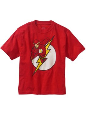 DC Comics The Flash Logo T-Shirt (Little Boys & Big Boys)