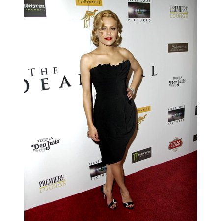 Brittany Murphy At Arrivals For Premiere Magazine Party For The Dead Girl Sideways Lounge Los Angeles Ca November 07 2006 Photo By Michael GermanaEverett Collection - Premier Magazine