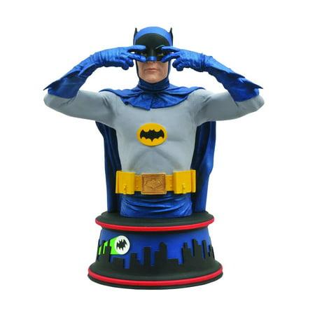 Diamond Select Toys: Batman Classic 1966 TV Series - Batusi Batman Bust](Classic Batman)