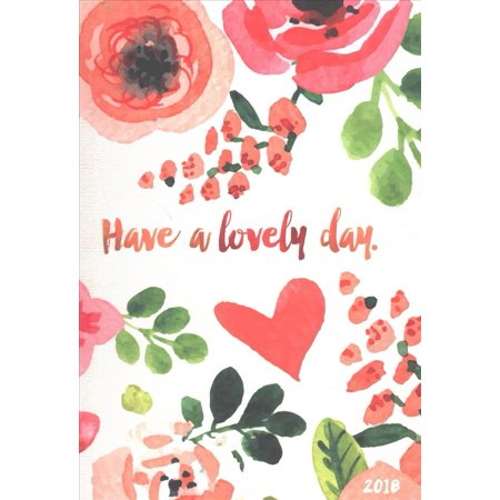 Lovely Day Medium 2018 Weekly   Monthly Planner