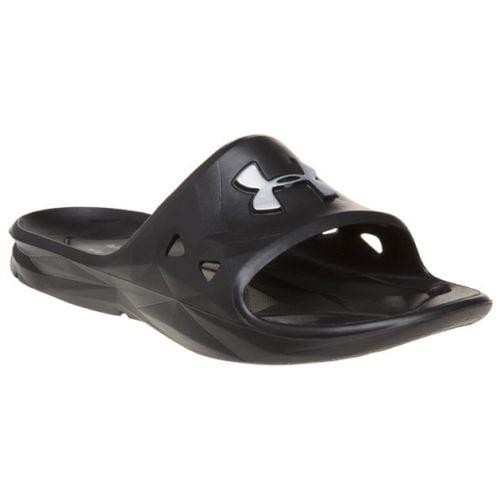 e495c2bfa52 Under Armour - Under Armour Locker III Men s Slide Sandal 1287325 - Black -  Walmart.com