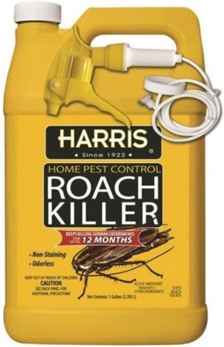 Harris HRS128 One Gallon Spray Home Pest Roach Killer Walmartcom