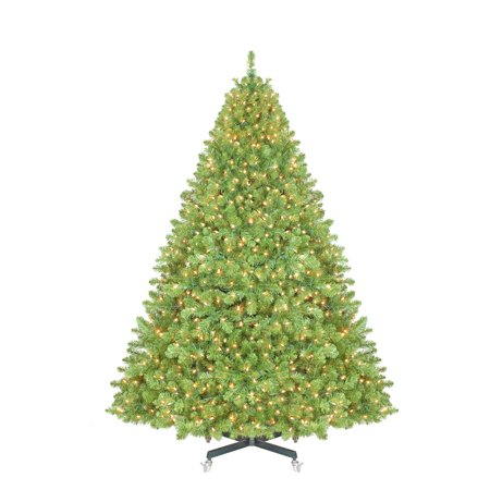 - Sequoia Pre-Lit LED Full Christmas Tree - Walmart.com