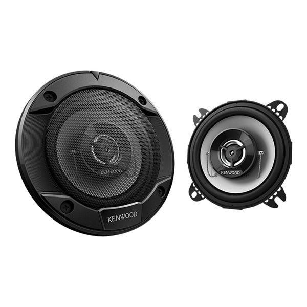 "Kenwood KFC-1066S 4"" 2-Way Coaxial Speaker System, 220W Max Power"