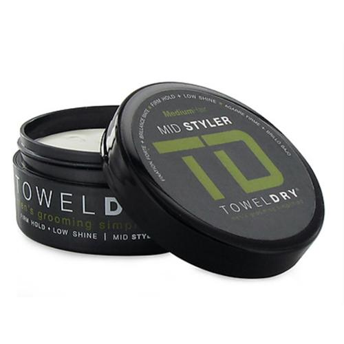 Towel Dry Mid Styler Paste for Men, Firm Hold, 1.69 oz (Pack of 2)