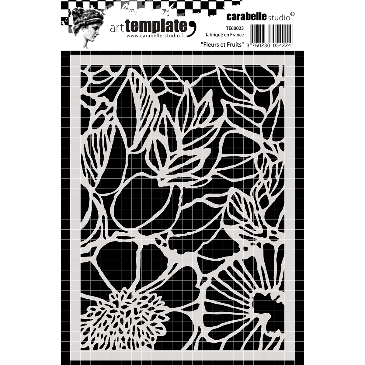 Carabelle Studio Template A6-Flowers & Fruit
