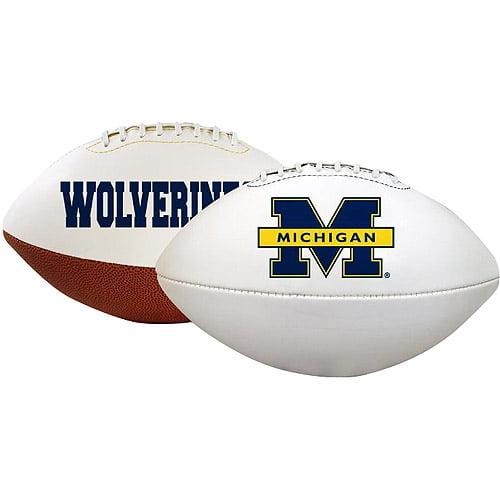 Rawlings University of Michigan Signature NCAA Footballs