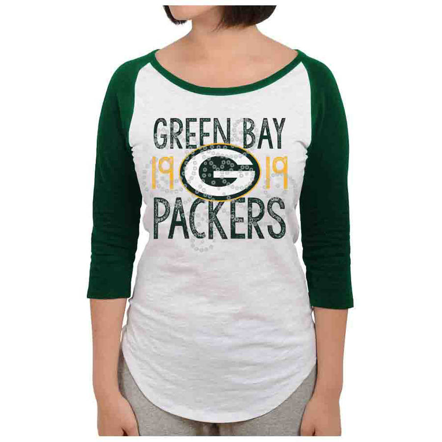 NFL Green Bay Packers Juniors Long Sleeve Graphic Tee