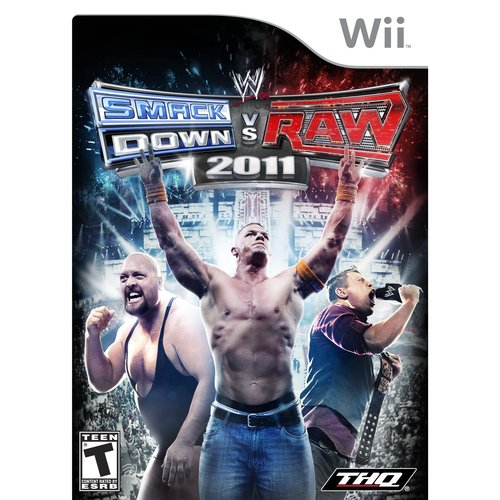 THQ WWE SmackDown vs. Raw 2011 - Nintendo Wii