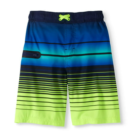 c0838433ba3ab Wonder Nation - Boys Fashion Swim Trunk (Little Boys & Big Boys ...
