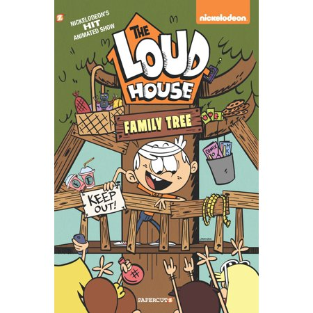 The Loud House: Family Tree (Paperback) - Halloween Tree Book Review