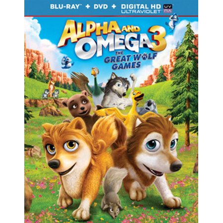 Kid Alpha Check - Alpha and Omega 3: The Great Wolf Games (Blu-ray)