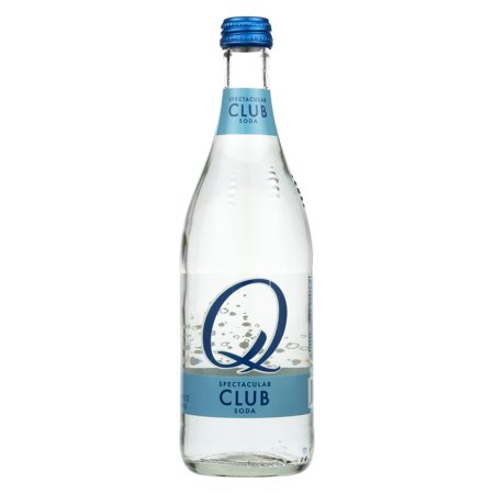 Q Drinks Club Soda - Pack of 6 - 16.9 Fl Oz (Club Soda Or Sparkling Water For Mojitos)