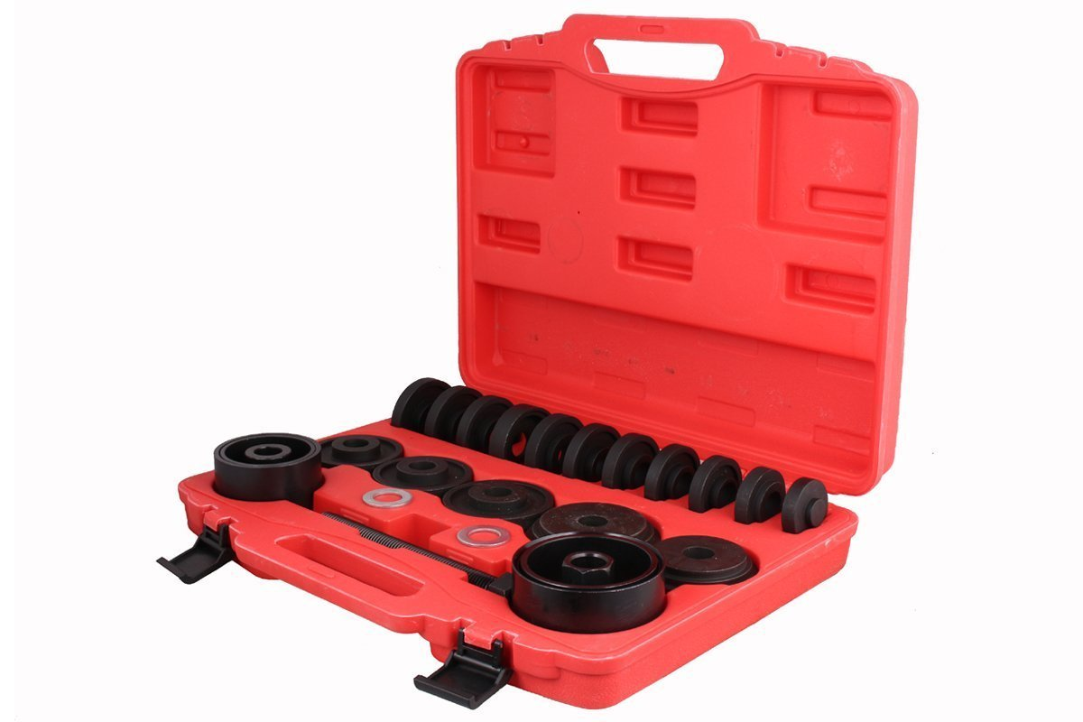 CALHOME Front Wheel Drive Bearing Removal Adapter Puller Pulley Tool Kit with Case, 23... by CALHOME